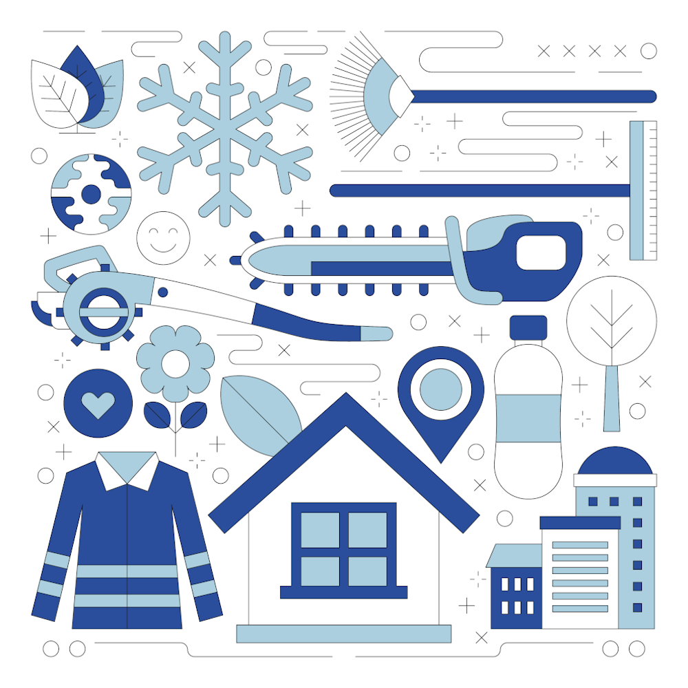 Stadtsauberkeit und Winterdienst